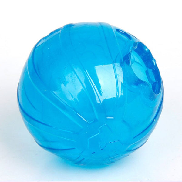 Plastic Blue Eating Slower Leakage Food Balls  (Blue free)