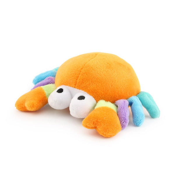 Cute Crab Plush Chew Squeak Toys