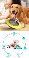 UFO Pet Treat Ball Interactive Dog Toy