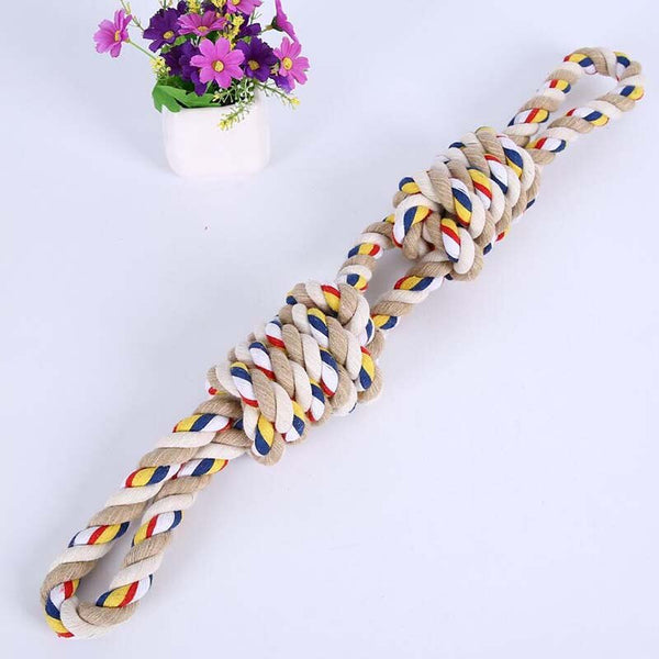 Molar Dog Toy Dog Bite Rope