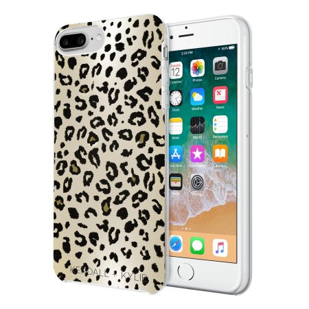 competitive price 67ca0 71489 Kendall + Kylie Protective Printed iPhone 8 Plus Case (Leopard Print)