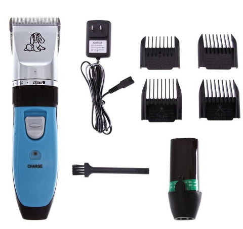 Blue cordless 5-in-1 clipper for BEGINNERS