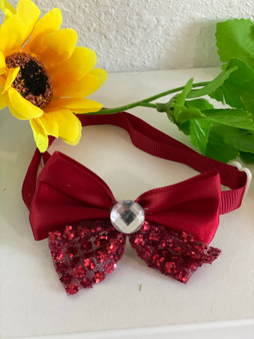 Lace Neck Bowties