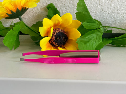 Image of Light-Up Tweezers - Hot Pink