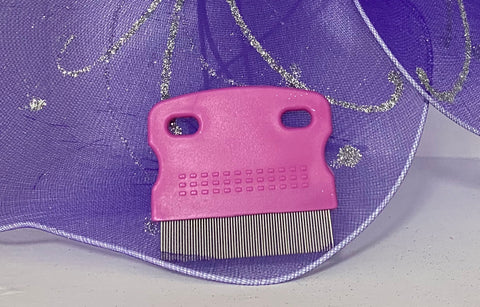 Image of Pink Flea comb