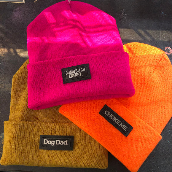 Word Beanies (choose word)