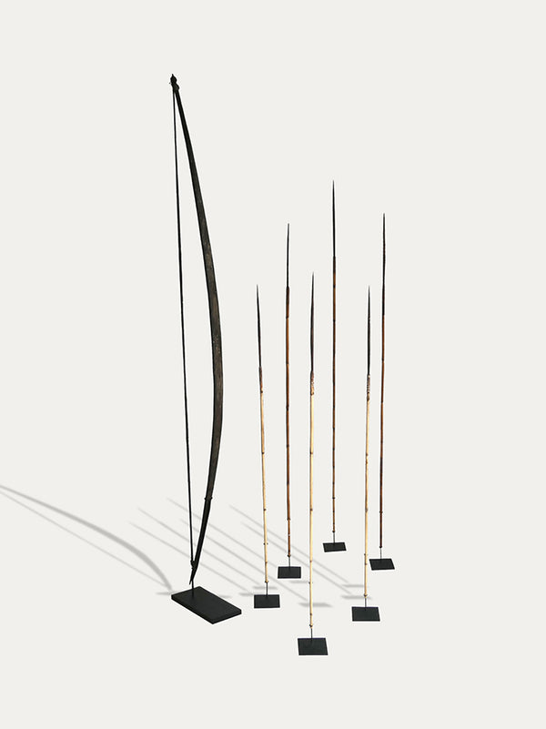 A set of Bow and Arrows from Papua - kirschon
