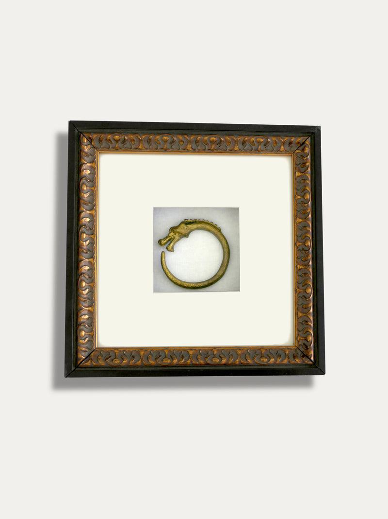 Frame with Tribal Dragon Bracelet from Borneo - kirschon