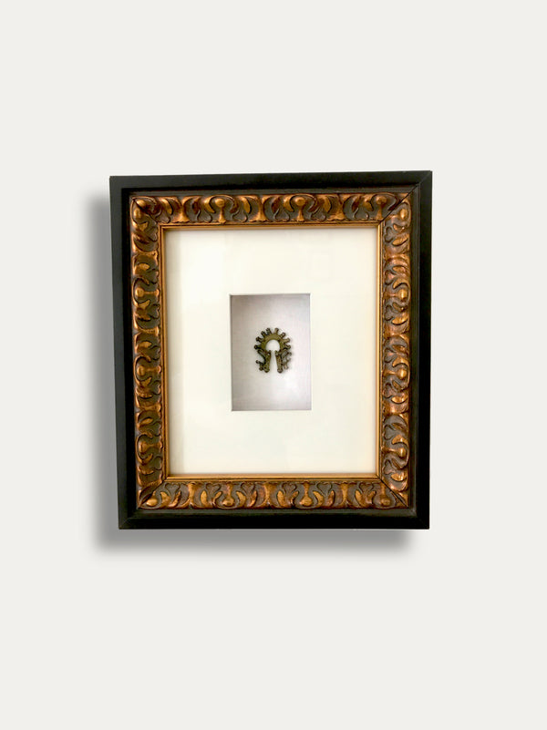 Frame with Tribal Duri Duri Earring from Sumatra - kirschon