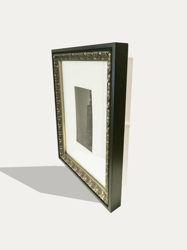 Frame with an Antique Medicine Bottle from the Tanimbar Islands - kirschon