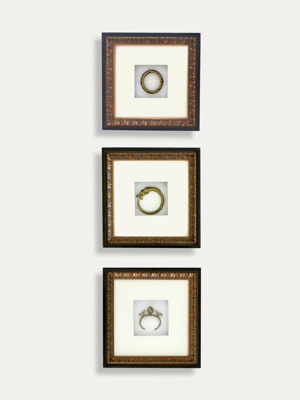 Set of 3 Frames with Tribal Bracelets - kirschon
