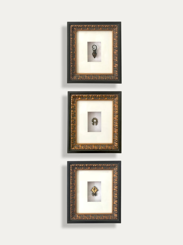 Set of 3 Frames with Tribal Earrings - kirschon