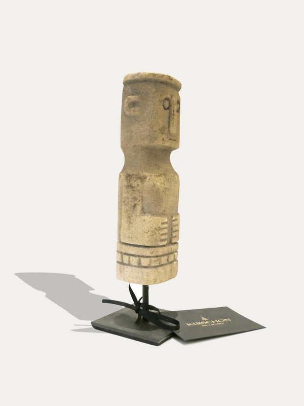STONE TOTEM FROM TIMOR, A SYMBOL OF GOOD LUCK. AVAILABLE AT KIRSCHON EXOTIC ARTEFACTS AND KIRSCHON.COM