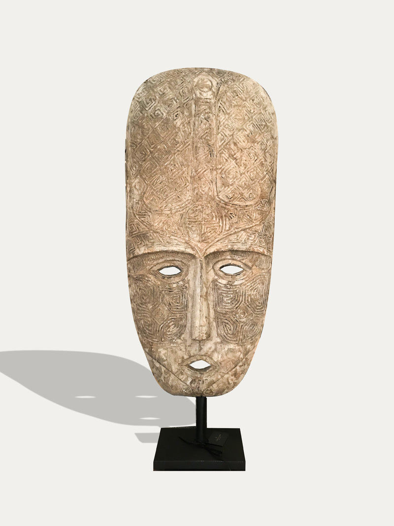 XL Topeng - Tribal Wooden Mask from Sumba - kirschon