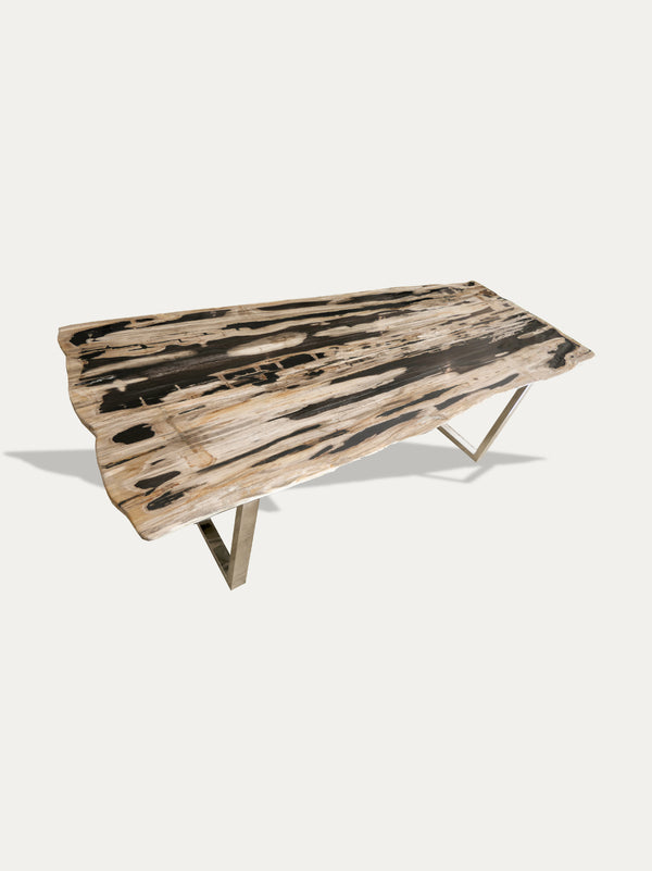 Petrified Wood Dining Table