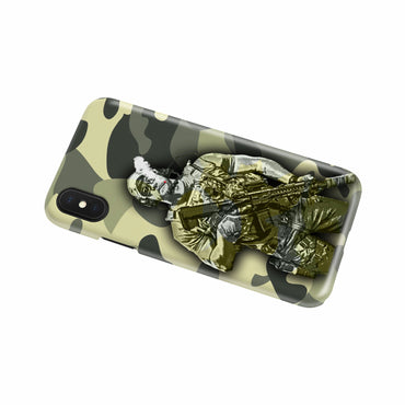 A Soldier's Phone Cover