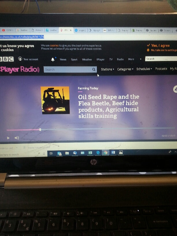 BBC Radio 4 interview for Food and Farming Programme