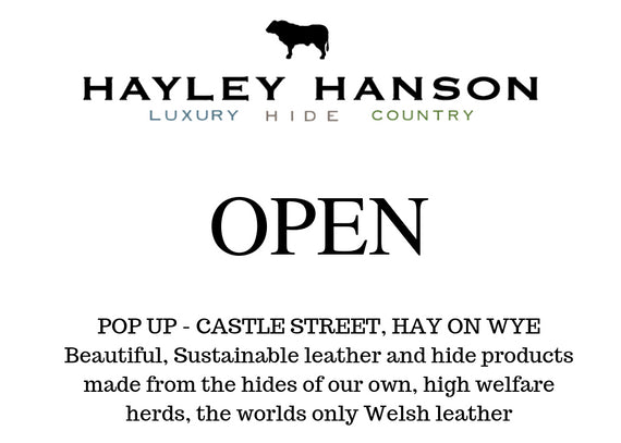 Pop up in Hay on Wye for Hay festival 2019