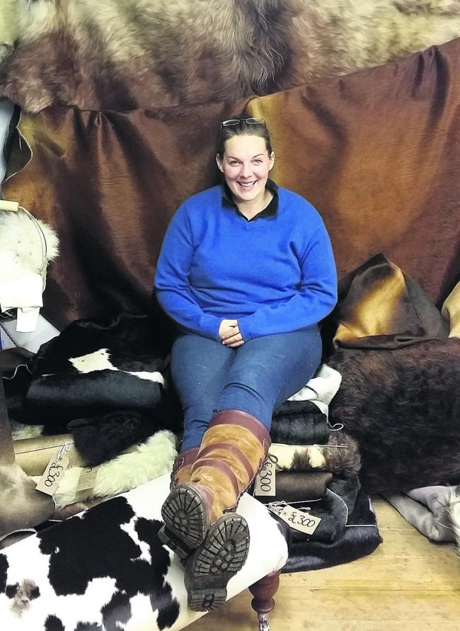 Seeking hide for keepsake drives new cattle business