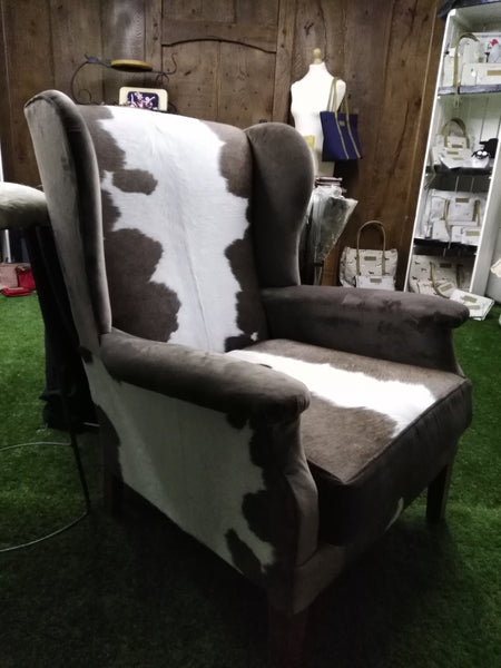 Beautiful wing back chair