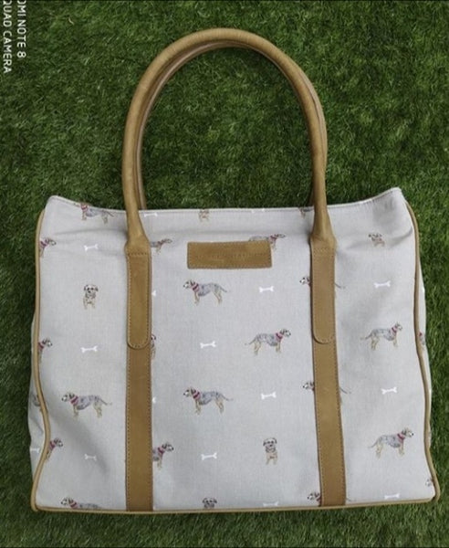 Large fabric Ellie tote