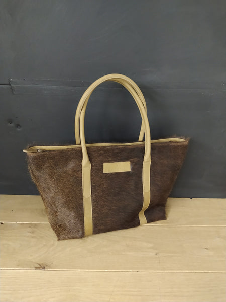 Large Hair on hide tote