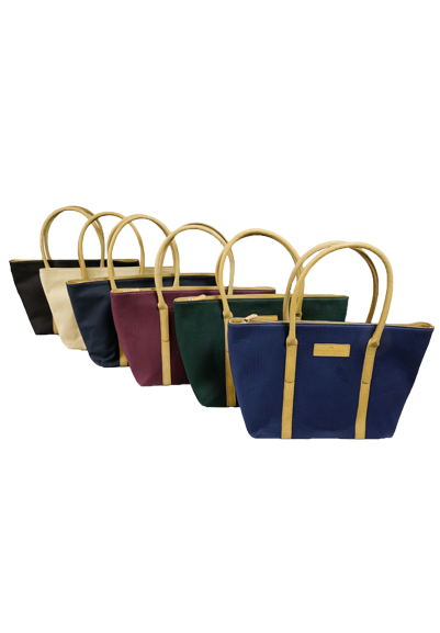Leather trimmed Brecon large fabric tote  inc all Special/Ltd editions