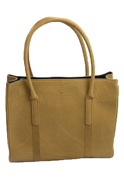 Leather Ellie tote bag