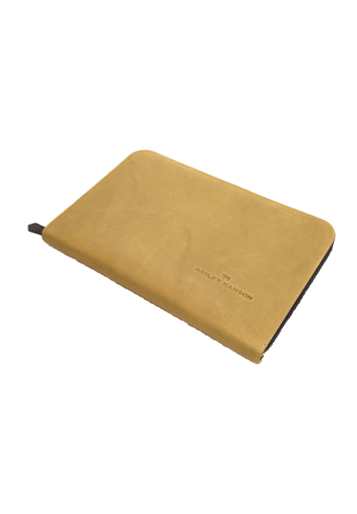 Leather Connie clutch