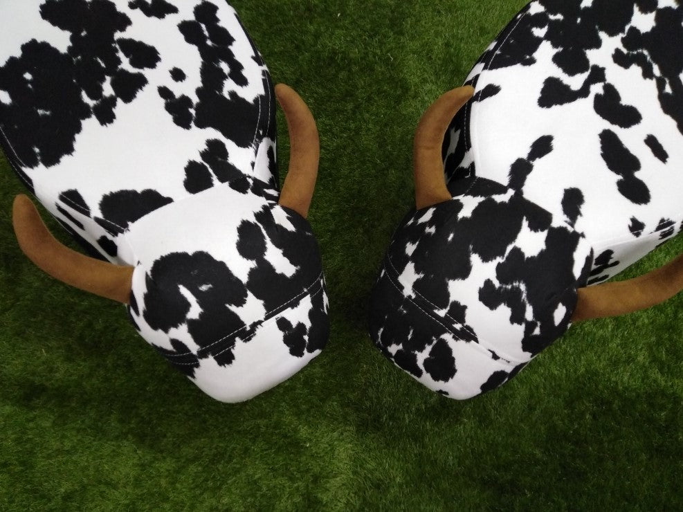 Moo & Co footstool - fabric