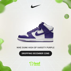 Nike Dunk High SP Varsity Purple & Yeezy QNTM Frozen Blue