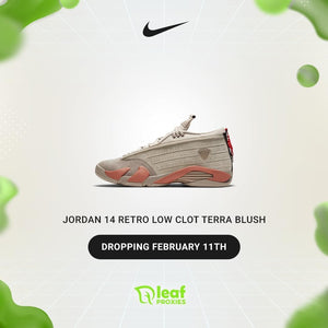 Jordan 14 Low Clot Terra Blush