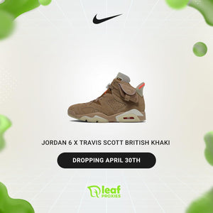 Jordan 6 x Travis Scott British Khaki