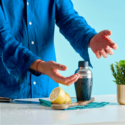 Don't make a huge mess mixing up your drinks... keep juice stains at bay with CuffedUp!
