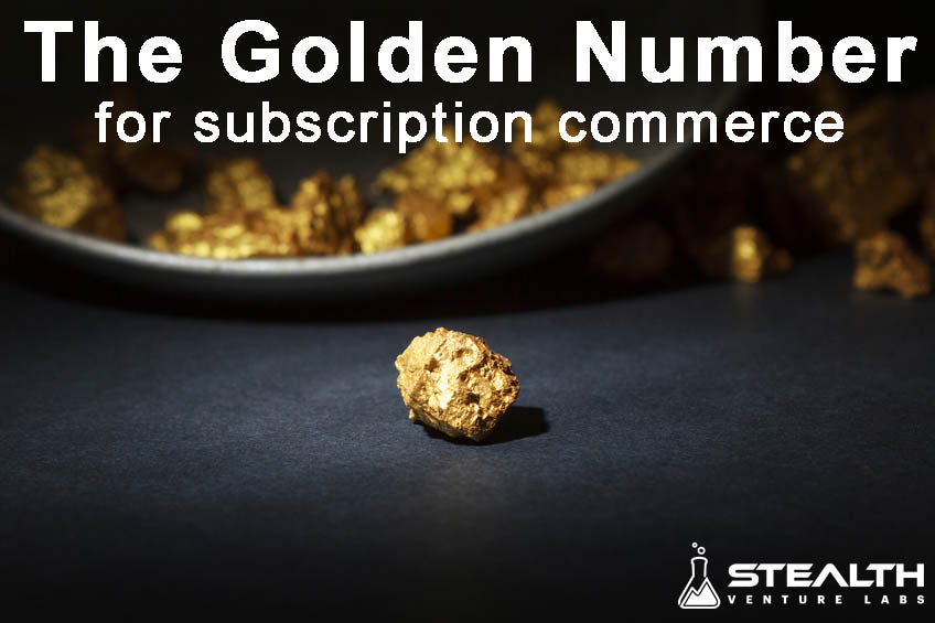 Subscription Commerce Golden Number
