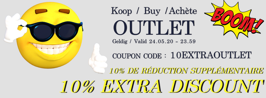 Extra korting op tafeltennis items in OUTLET
