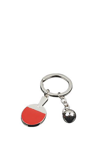 Tibhar Metal Key Ring Silver Bat - Killypong