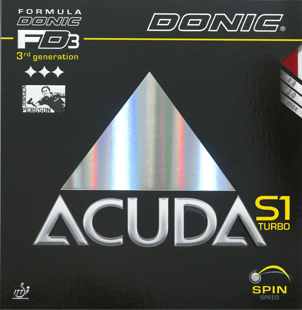 Donic Acuda S1 Turbo - Killypong