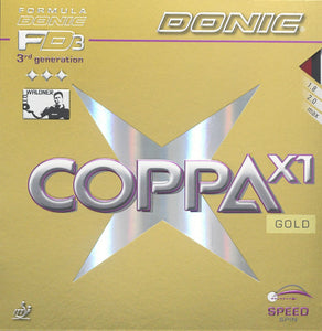 Donic Coppa X1 Gold - Killypong