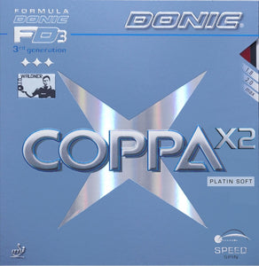 Donic Coppa X2 Platin Soft - Killypong