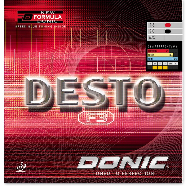 Donic Desto F3 - Killypong
