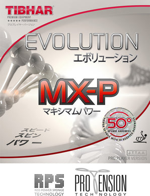 Tibhar Evolution MX-P50 - Killypong