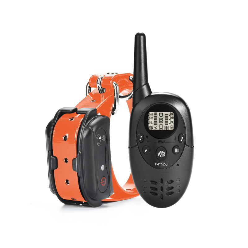 PetSpy M86N Advanced Dog Training Collar with shock vibration and beep modes