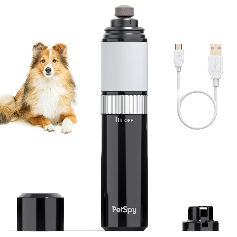 Dog Nail Grinder, Rechargeable Tool for Grooming Pet Claws