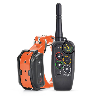 PetSpy M686 dog training collar with shock function