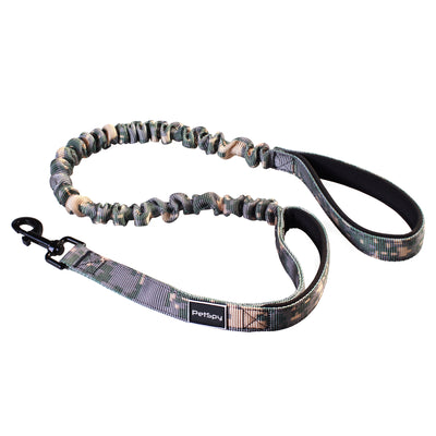 Dual Handle Dog Leash with Shock Absorbing