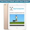 Free dog training ebook with your order from PetSpy