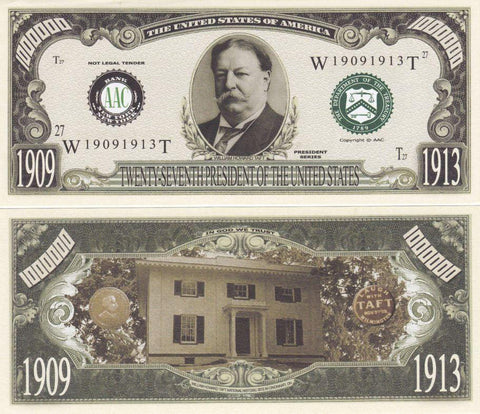 William Taft - 27th President Of The United States Bill