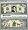 Image of Arkansas - The Natural State - Commemorative Novelty Bill