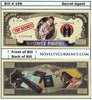 Image of Secret Agent Spy Novelty Currency Bill